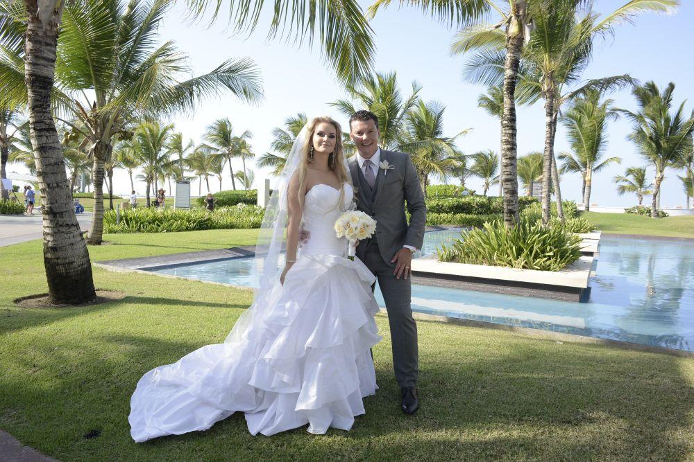 O casal Deborah e Danny Berté: experiência para ficar na memória. Foto: arquivo pessoal.