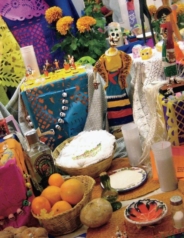 Preparar os alimentos preferidos dos parentes e amigos que já se foram faz parte da tradição (Foto: reprodução da página de turismo México)