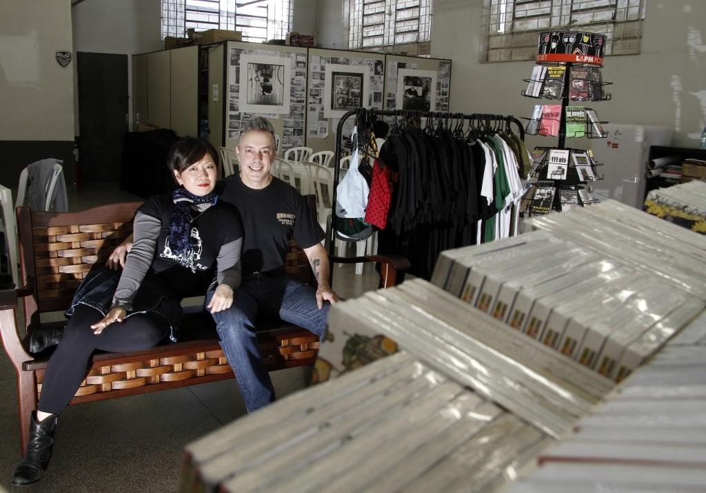 Francisco Utrabo e Mitie Taketani; Foto: divulgação.