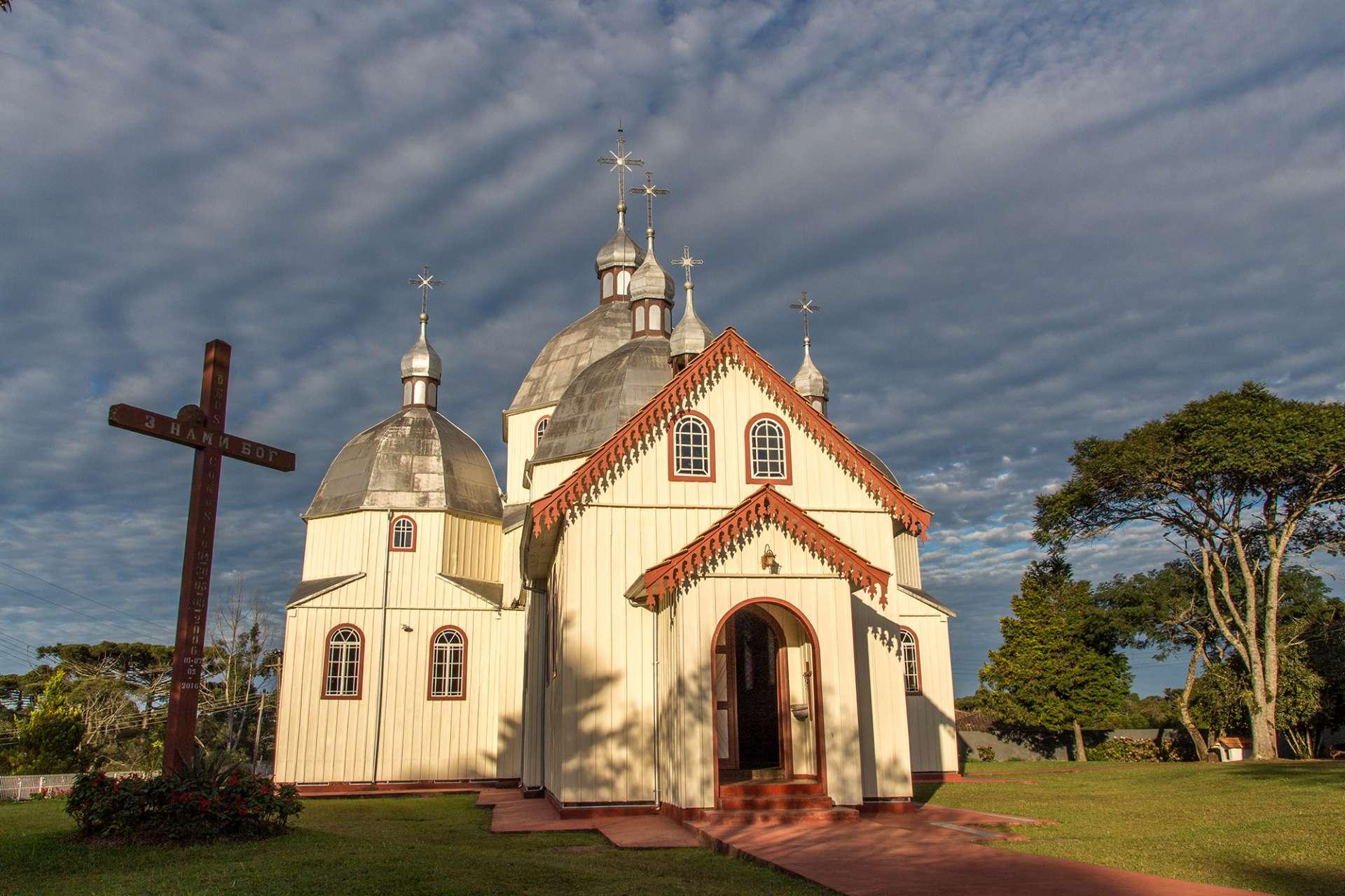 Igreja Nossa Senhora dos Corais em Antonio Olinto. Foto: Eduardo Covalesky/Divulgação