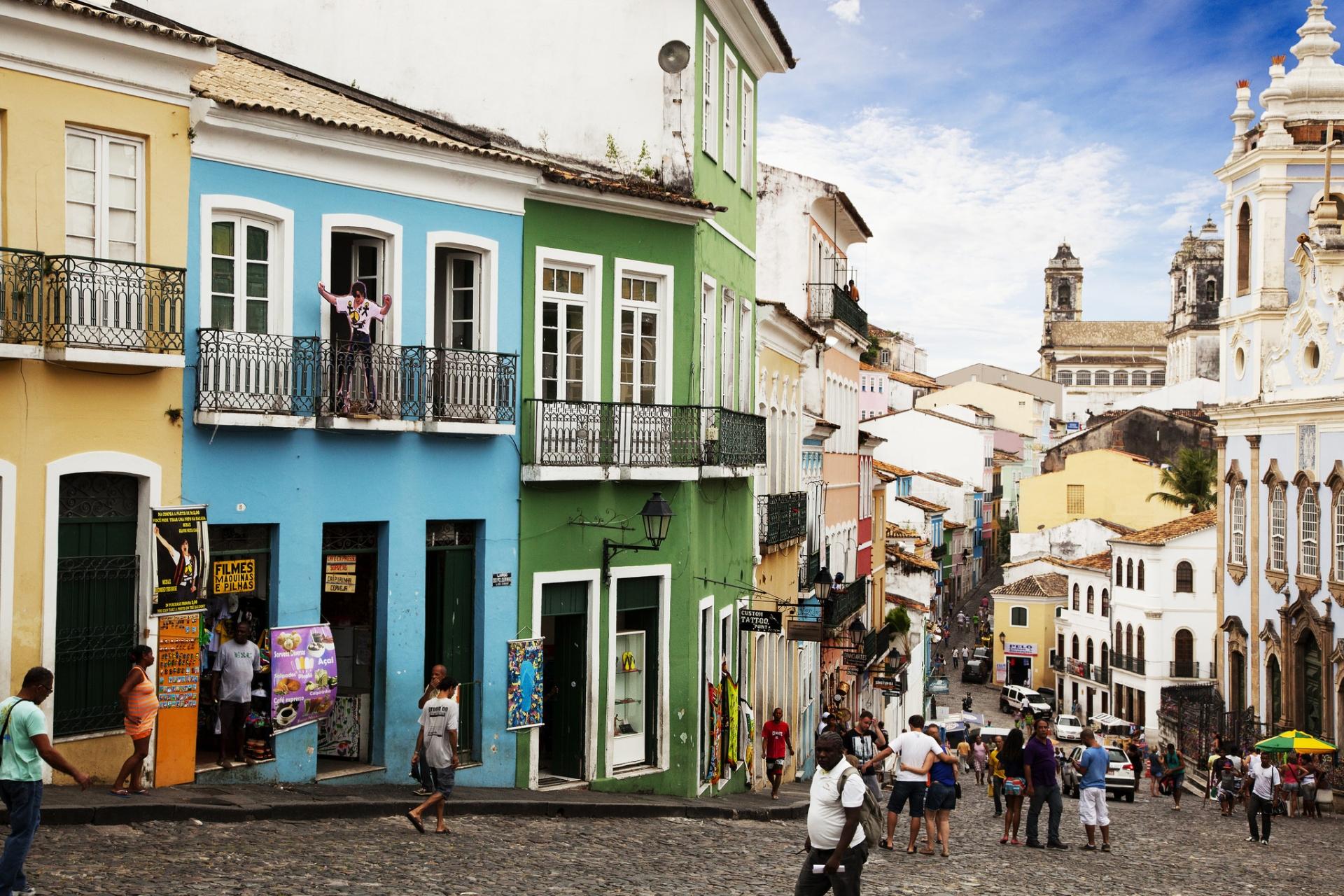 Salvador, capital da Bahia — uma das dez melhores regiões para 2018. Foto:  Rodrigo Butta/Visual Hunt