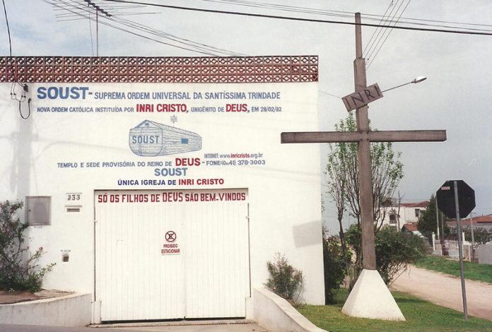 Fachada da casa em que ficava a sede provisória da Soust, no Alto Boqueirão, em Curitiba. Foto: INRI Cristo/Arquivo pessoal