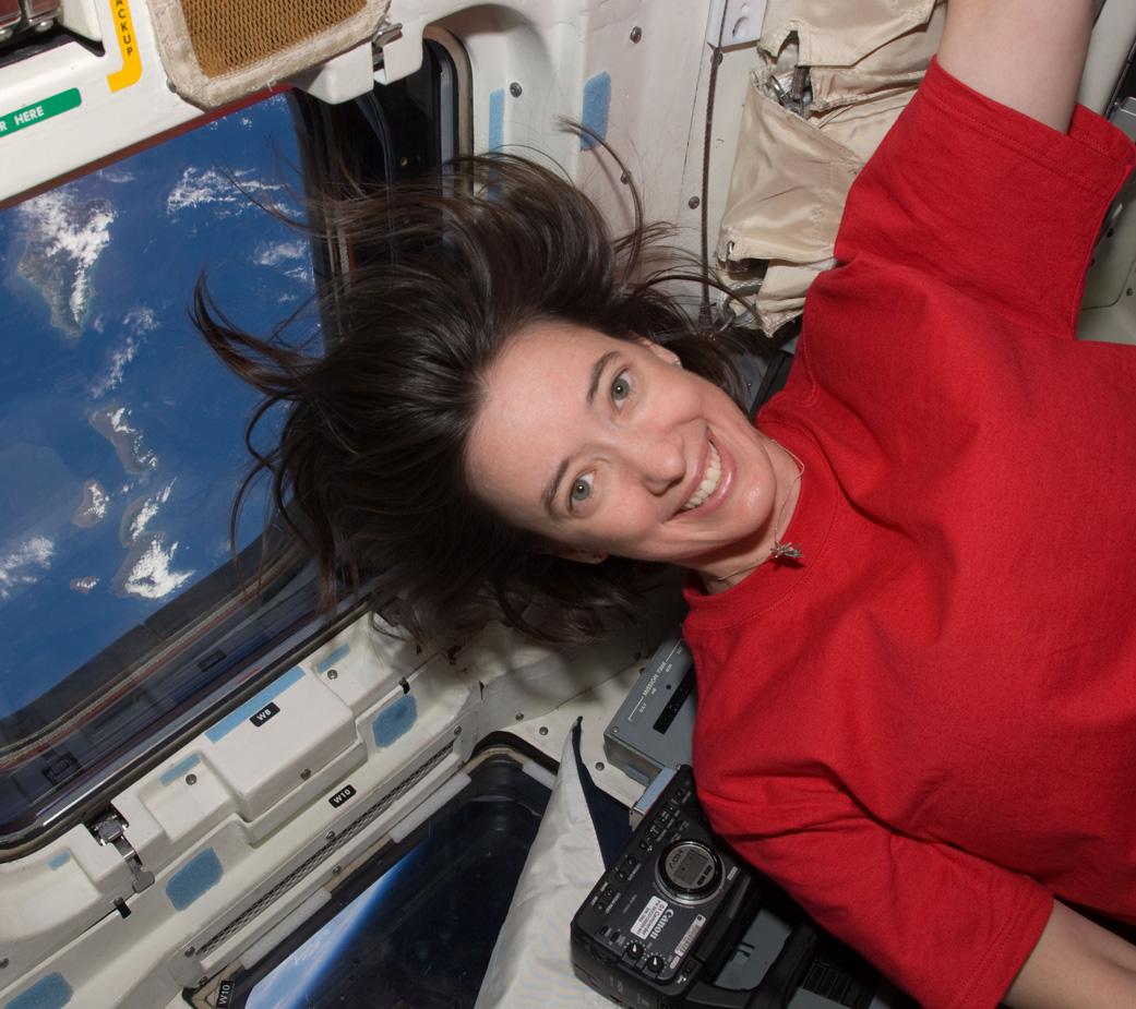 Megan McArthur, astronauta da NASA. Foto: Reprodução