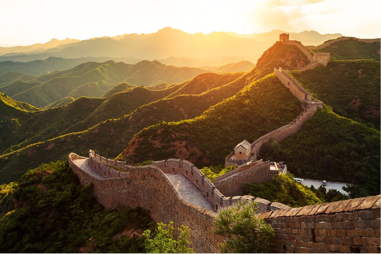 """Muralha da China faz parte do roteiro da """"Volta ao Mundo de Trem"""". Foto: Divulgação"""