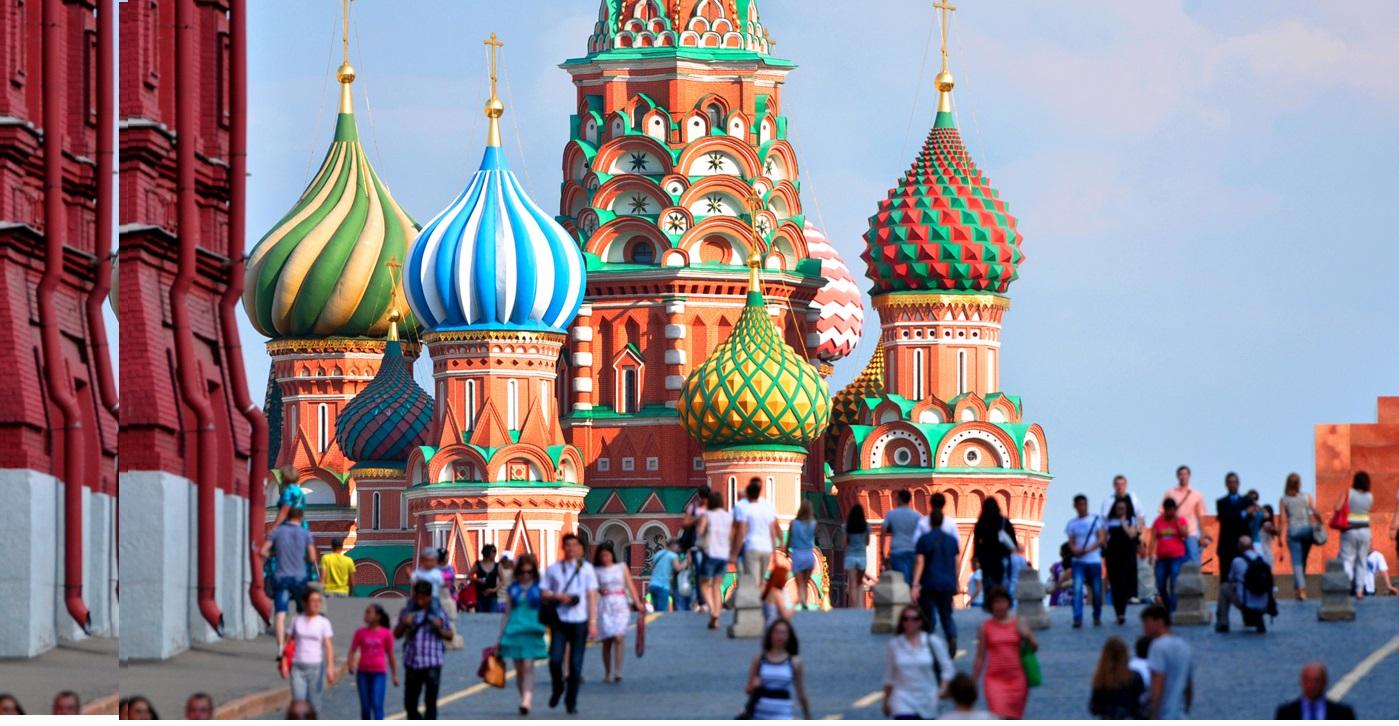 Na Rússia, Moscou é um dos destinos da viagem. Foto: Divulgação