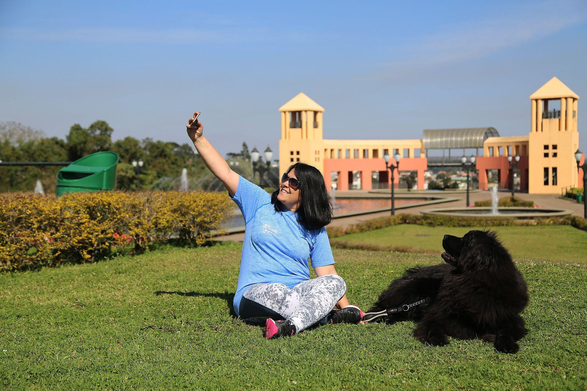 Em Curitiba. não faltam lugares para fazer selfie, como o parque Tanguá. Foto: Gazeta do Povo