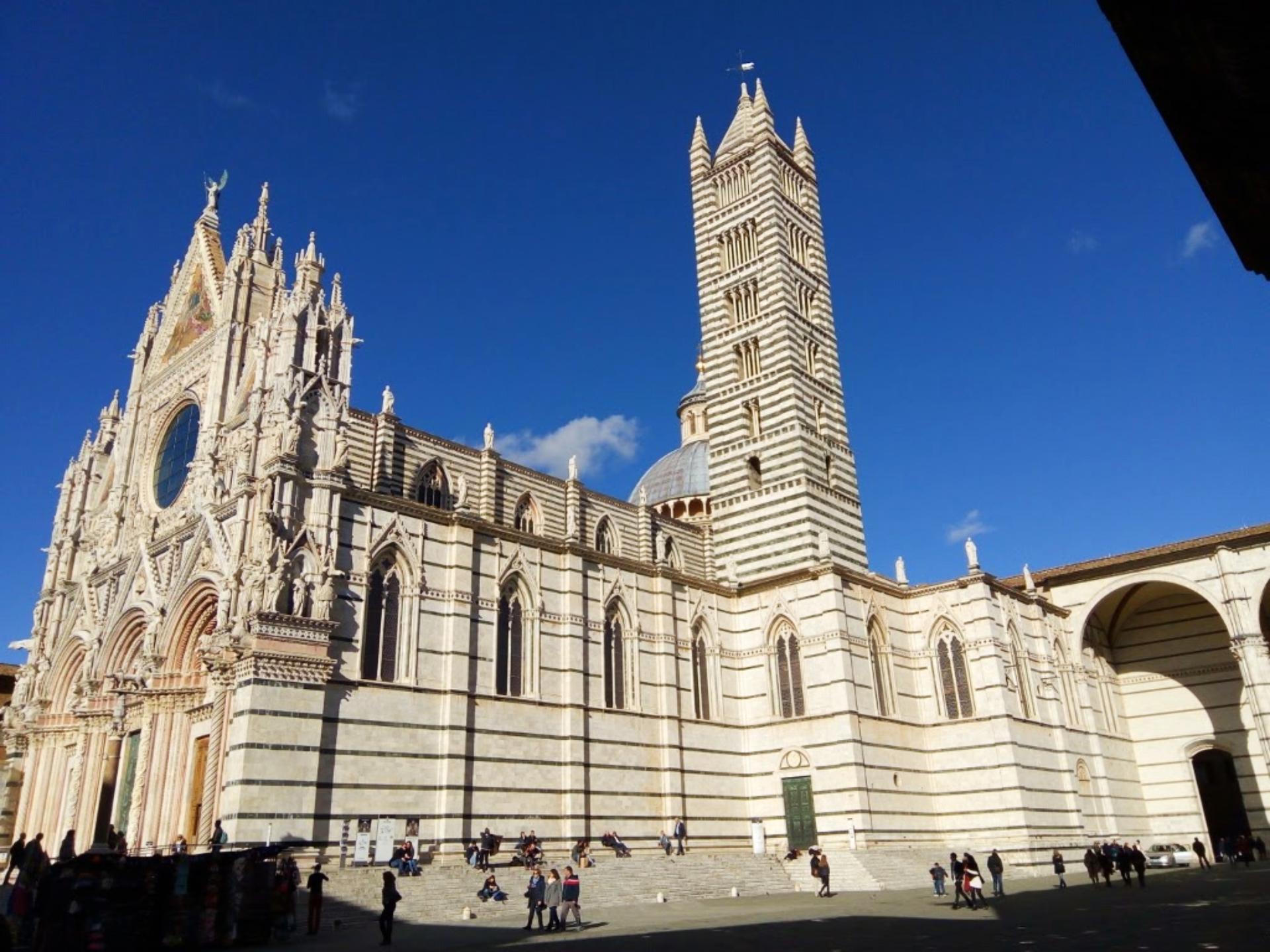 Catedral de Siena, na Itália. Foto: Carolina Werneck/Gazeta do Povo