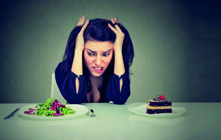 Mau humor é só um dos sintomas dos regimes muito restritivos. Foto: Bigstock.