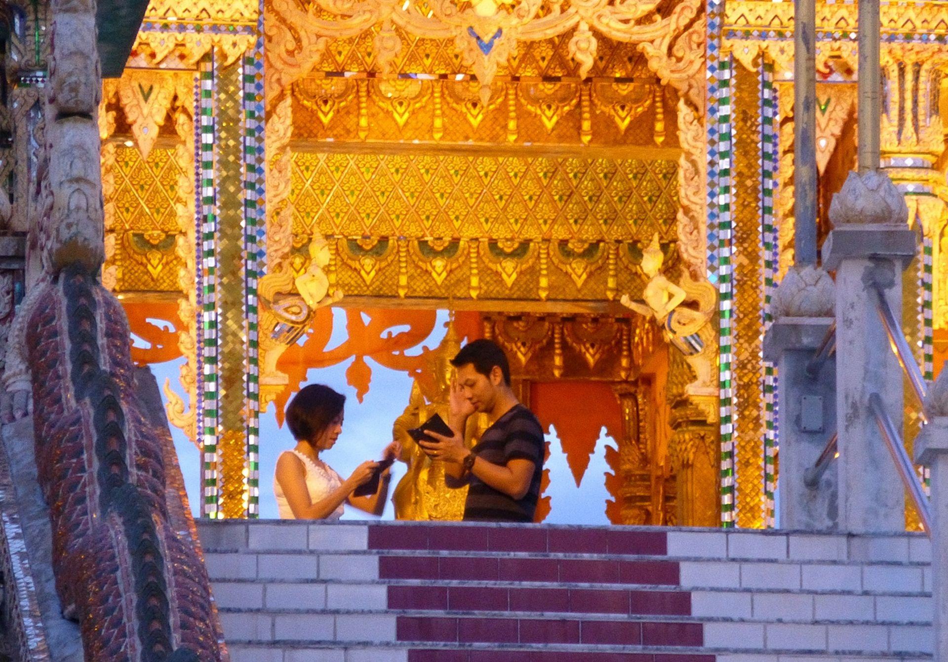 Até mesmo culturas mais diferentes podem somar ao estilo dos brasileiros. A Tailândia é um dos novos destinos preferidos dos viajantes. Foto: VisualHunt.