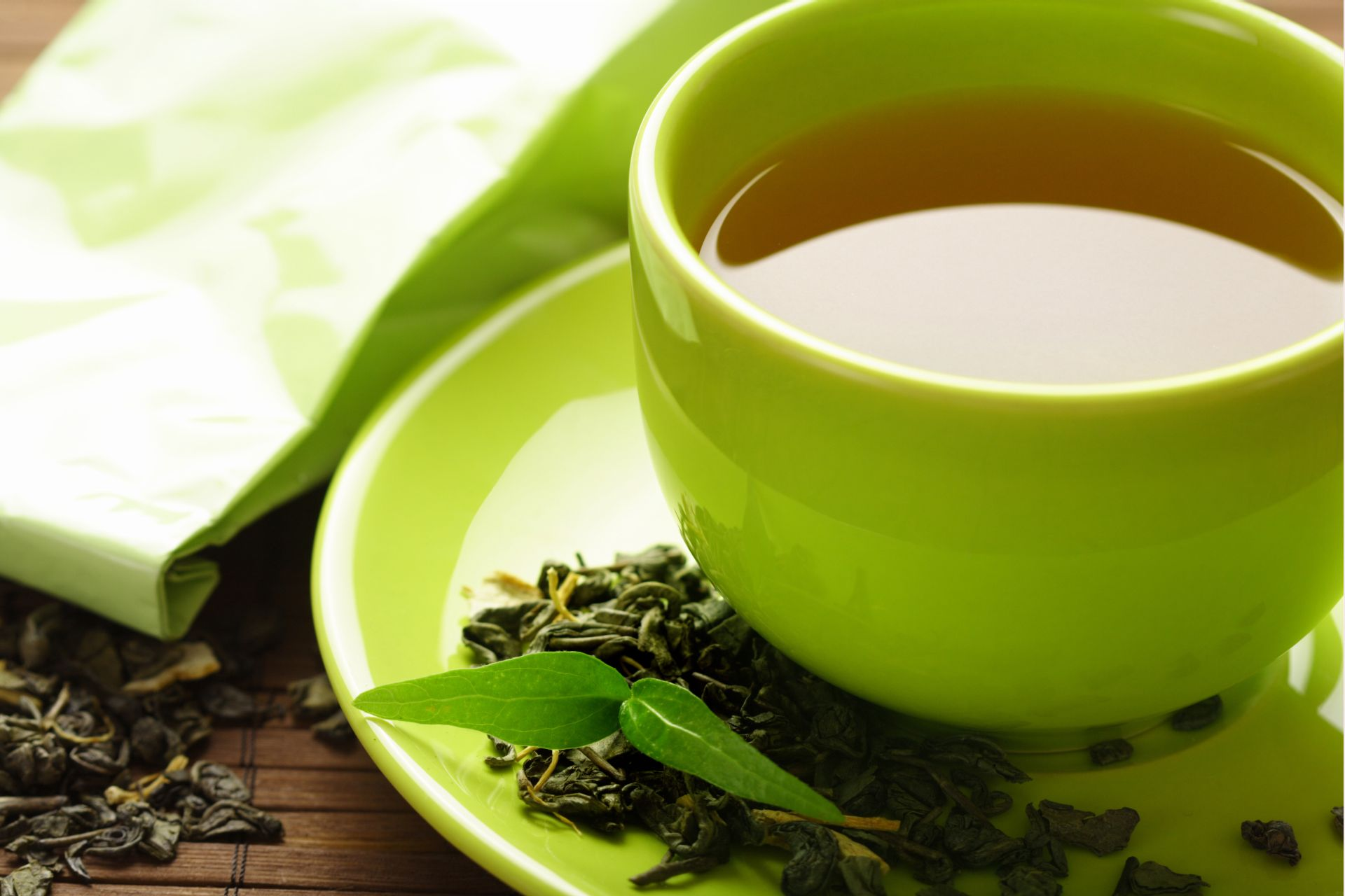 Chá ajuda a diminuir a retenção líquida. Foto: Bigstock
