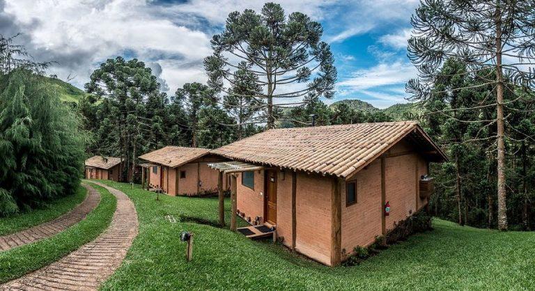 A Pousada Casa Campestre, eleita a melhor pousada do mundo, recebe apenas três casais por vez, um em cada chalé. Foto: Jefferson Renó/Pousada Casa Campestre.