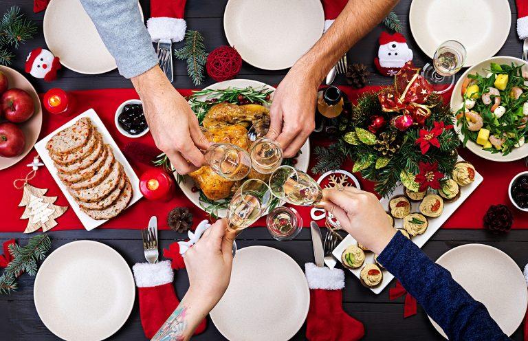 Ceia de Natal: momento não deve ser de restrição. Foto: Bigstock