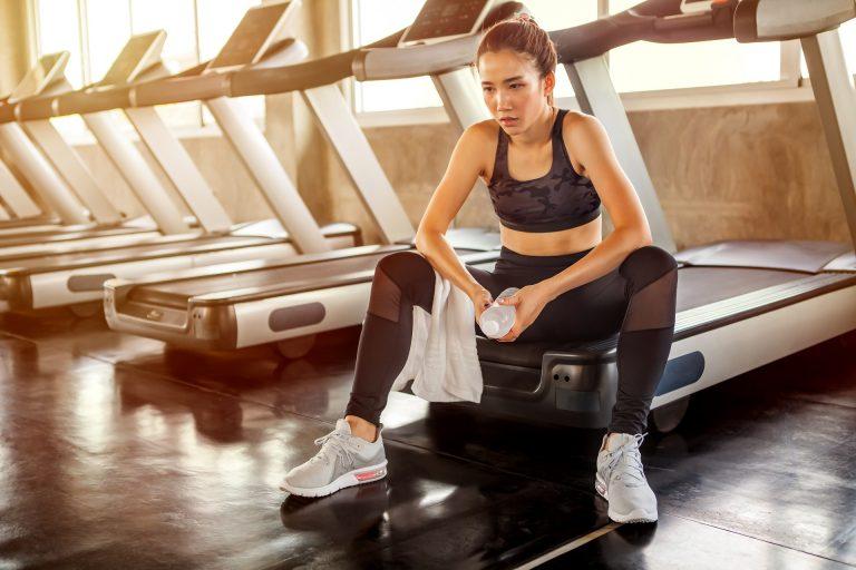 Volta ao treino depois de ficar um tempo parado pode ser bem pesado. Foto: Bigstock.