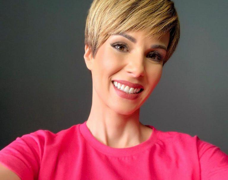 A apresentadora Ana Furtado foi uma das celebridades a compartilhar o tratamento contra o câncer de mama Foto: Divulgação