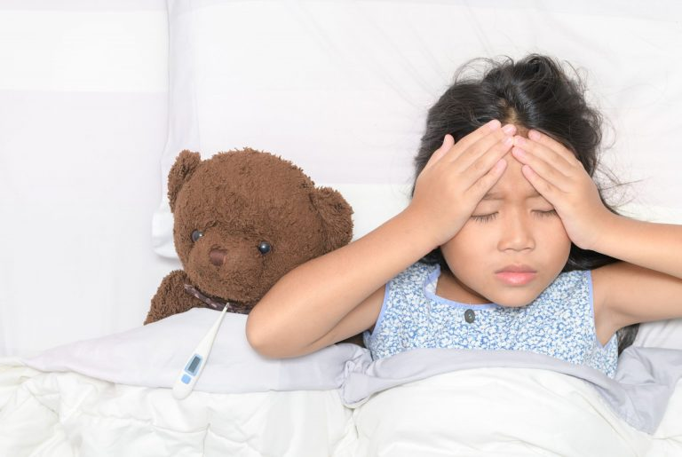 Enxaqueca em crianças: quais são os sinais e os tratamentos? Foto: Bigstock.