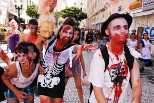 O carnaval de Curitiba