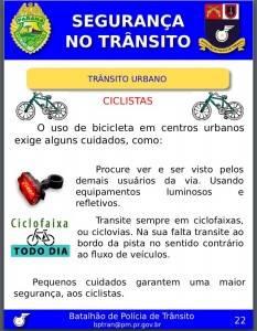 Órgãos de trânsito do PR desconhecem legislação sobre uso da bicicleta
