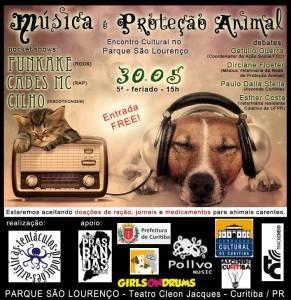 Música e Proteção Animal no PARQUE SÃO LOURENÇO