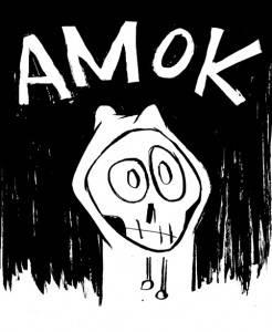 Amok, personagem do livro Amok - Cabeça, tronco e membros, de A. Benett