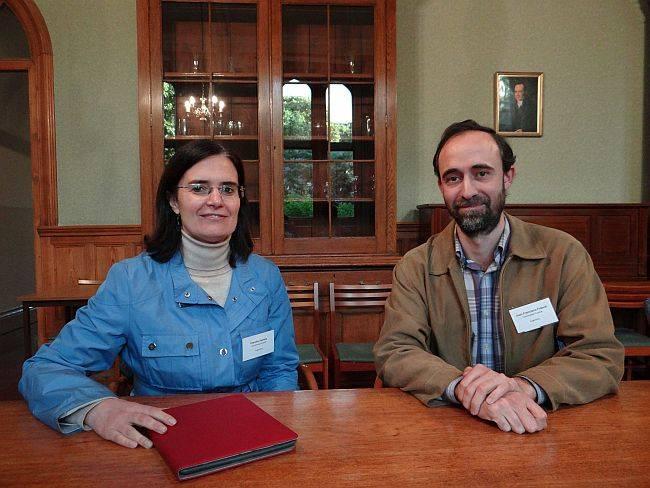 Claudia Vanney e Juan Francisco Franck são os diretores do projeto Determinismo e Indeterminismo: da Ciência à Filosofia. (Foto: Marcio Antonio Campos/Gazeta do Povo)