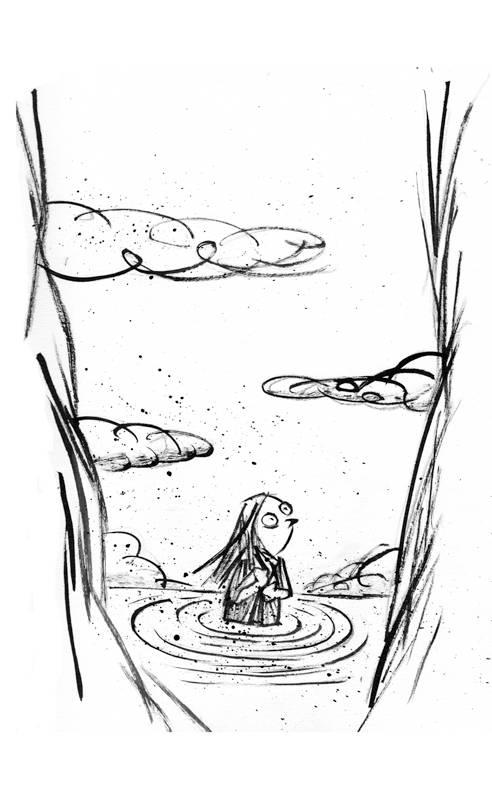 Ilustração para o livro Réquiem para Dóris, de Oneide Diedrich