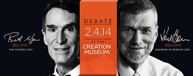 O debate entre Nye e Ham está marcado para 4 de fevereiro. (Foro: Divulgação)