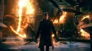 """Cena do filme """"Frankenstein - Entre Anjos e Demônios""""."""