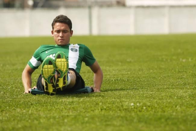 Keirrison, a grande história do Paranaense-2014, tenta impulsionar sua recuperação no Coritiba. (Foto: Marcelo Andrade/ Gazeta do Povo)