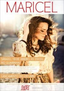 Maricel lança seu primeiro álbum no Teatro Guairinha (Divulgação)