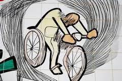 Obras do artista curitibano Poty Lazarotto poderão ser conhecidas em roteiro de bicicleta.