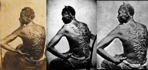 Escravo com marcas nas costas!
