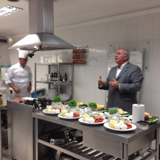 Começou o curso chef gourmet do Centro Europeu