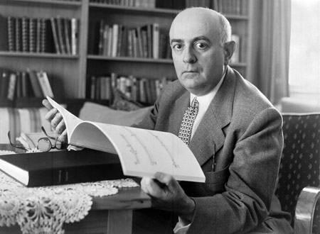 O filósofo Theodor Adorno