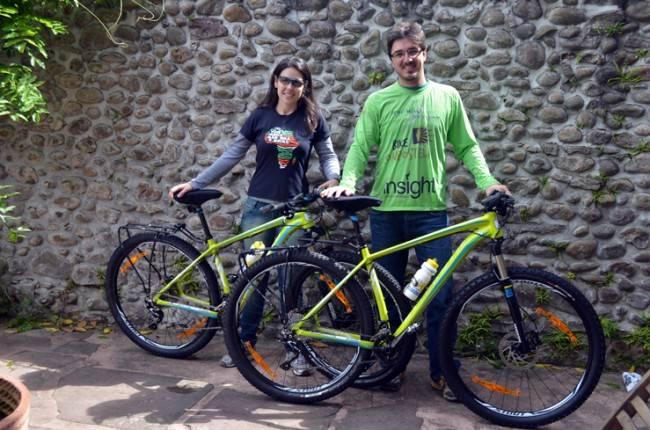 Bicigrinos: os peregrinos da bicicleta.