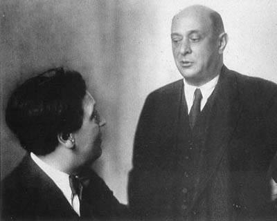 Alban Berg  e Arnold Schoenberg: os ídolos de Adorno