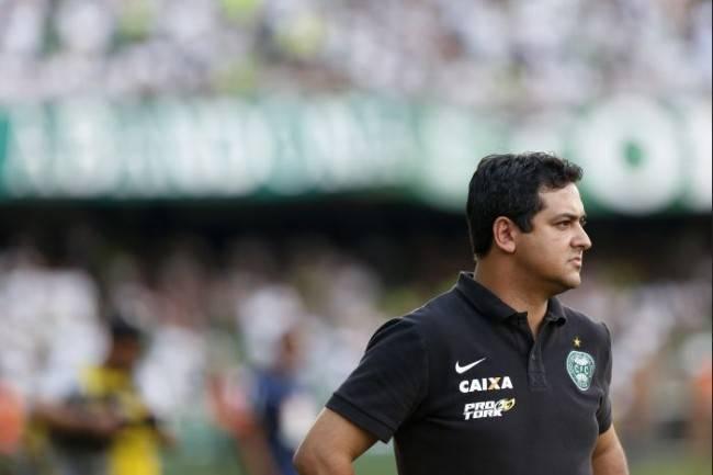 Marquinhos Santos está de volta ao comando do Coritiba após 11 meses