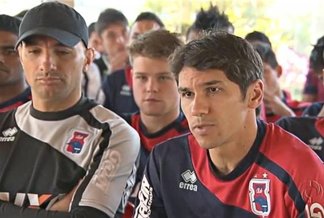 Jogadores do Paraná se reuniram para dar ultimato à diretoria