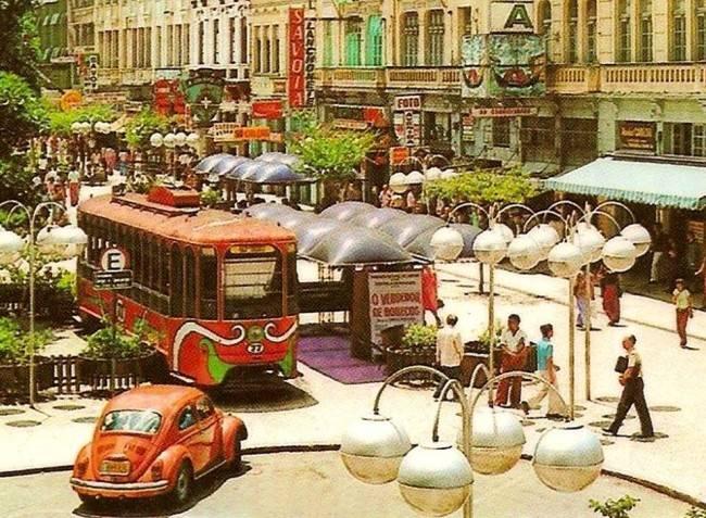 Curitiba em 1975: apaixonante