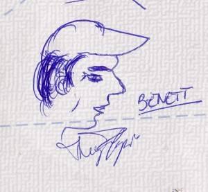 Uma carta para meu tataravô, Benett, já morto.