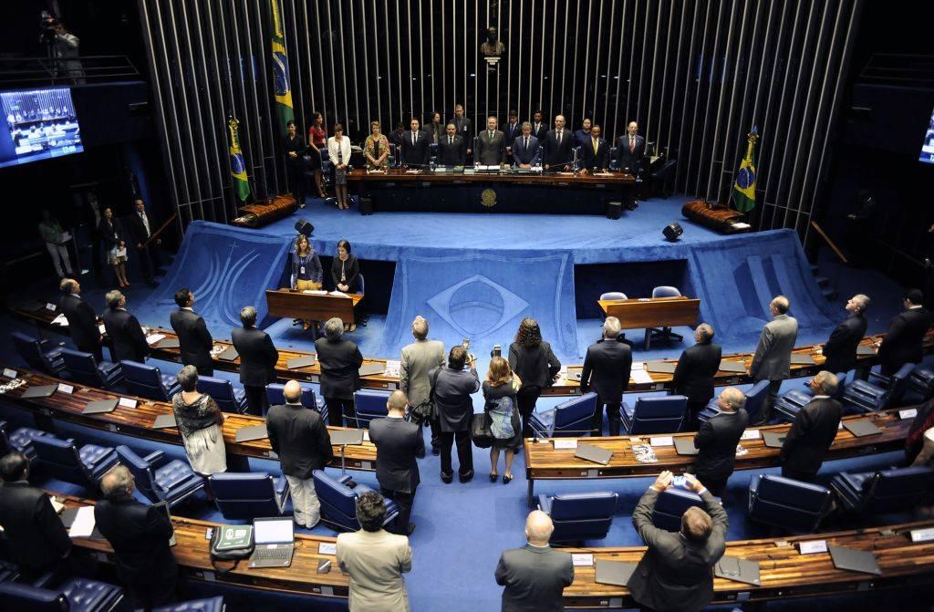 Sessão da Câmara desta quinta-feira. (Lucio Bernardo Jr/ Câmara dos Deputados)