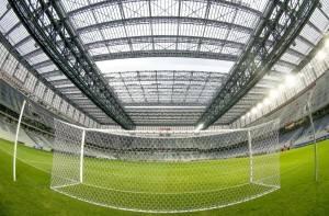 Arena da Baixada com o teto retrátil: irregularidades apontadas e sanções propostas. (Hugo Harada/ Gazeta do Povo)