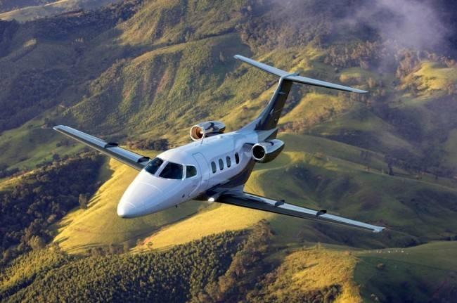 A Etihad Airways escolheu o Phenom 100E da Embraer para sua escola de pilotagem (Foto: Divulgação/Embraer)