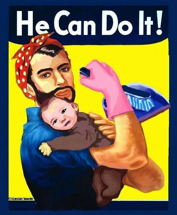 711db5396 Os homens também podem (e devem) ser responsáveis pelo cuidado da casa e das