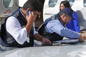 No primeiro dia da Operação Voo Seguro, 12 aeronaves apresentaram alguma irregularidade (Foto: Gustavo Ribeiro/Gazeta do Povo)