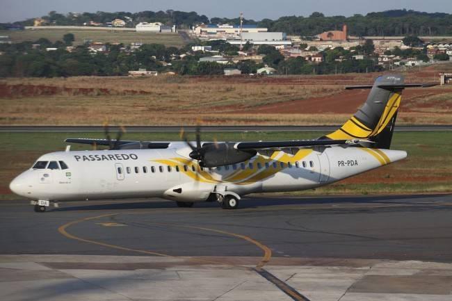 ATR-72-600 da Passaredo (Foto: Wikimedia Commons / YiFeiBot)