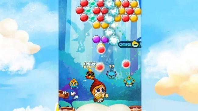 Imagem do jogo Rainbow Pop