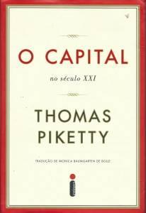 O capital no século XXI - capa da edição brasileira