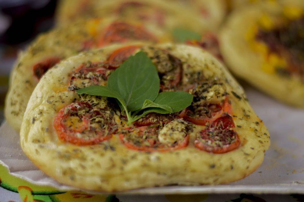 Minipizza da VegAninha custa R$ 5. Foto: Divulgação