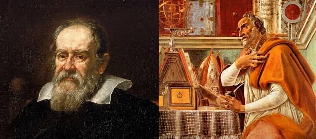 Galileu se apoiou pesadamente em Santo Agostinho