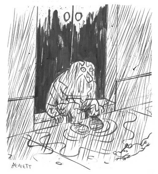 Ilustração para crônica do Luis Henrique Pellanda